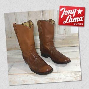 Tony Lama Men's Brown Boots